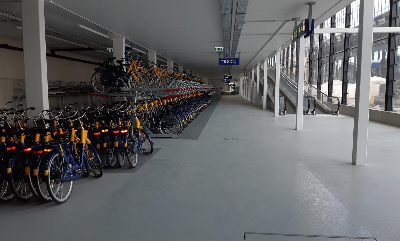 NS OV fietsenstalling